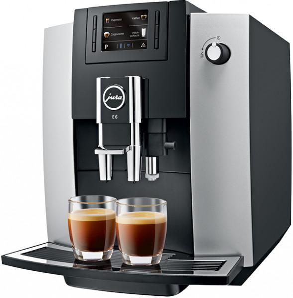 JURA E6 Kaffeevollautomat - Ansicht seitlich 2